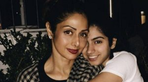 Sridevi posts the most adorable wish for daughter Khushi Kapoor's birthday.