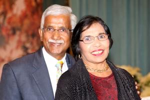 Bimla and Swatantra Jain, Treasurer and National Board member, Pratham USA.