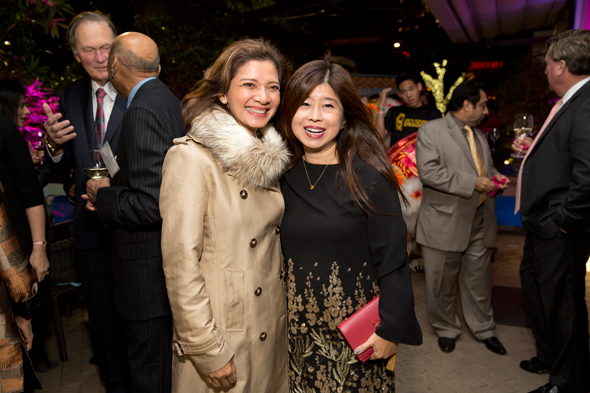 Bonna Kol and Rose Chen (right)