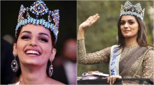 Bamnoli's men have been quick to bask in the glory of Manushi Chhillar's success, even though she has never lived there. (Source: APH Images)