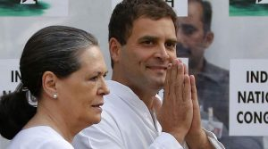 Rahul Gandhi is set to be elected unopposed as Congress president today. In this photo, Rahul with his mother Sonia Gandhi, the current and longest serving president of the party.