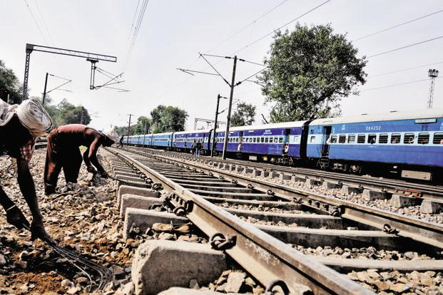 The current average speed of trains on this network is around 88-90kmph. Photo: Mint