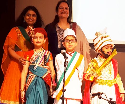 DAV Montessori School Kids Patriotic Performances
