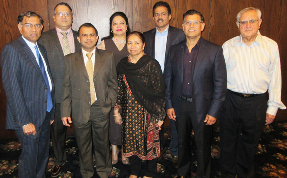 The Board of Directors of IMAGH with Chairman Dr. Maqbool Haq (left)