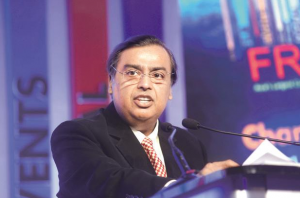 RIL chief Mukesh Ambani says Reliance has become the largest private sector investor in Assam by putting in Rs5,000 crore over the last few years. Photo: Abhijit Bhatlekar/Mint