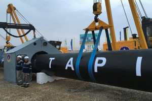 The 1,840-kilometre TAPI pipeline will begin pumping natural gas from Turkmenistan's giant Galkynysh gas field by the beginning of 2020. Photo: Reuters