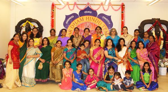 Members of Char Dham Temple Seva Group