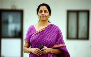 Defence minister Nirmala Sitharaman Photo: India Today