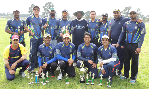 Runners up Rattlers-Spartans with Chief Guest Tony