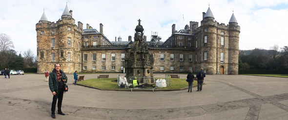 The Holyrood House Palace is the official palace of the Queen though her personal palace, Balmoral, is further to the north of Dundee and west of Aberdeen.