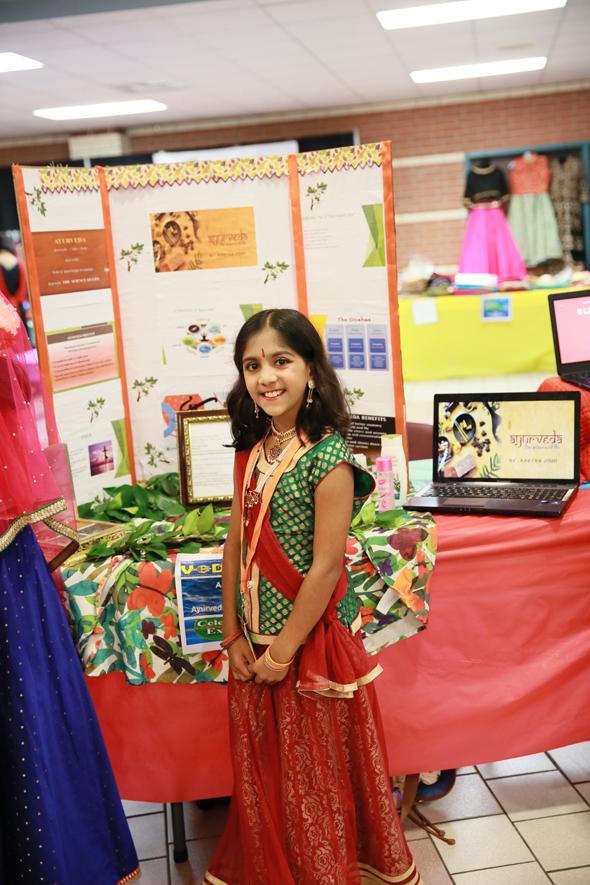 Champion Arya Joshi, Presentation on Ayurveda