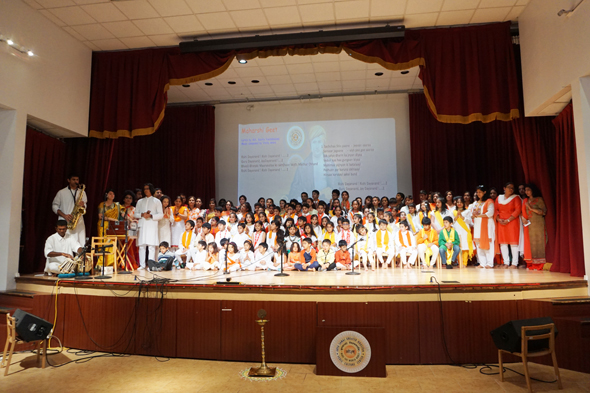 ASGH Sthapana Divas DAV Schools Children Cultural Performance