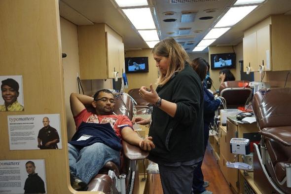 ASGH Health fair Blood Donor