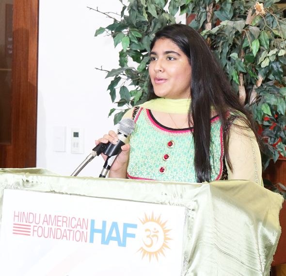 Smriti Ahuja speaks about her experience as a HAF summer intern