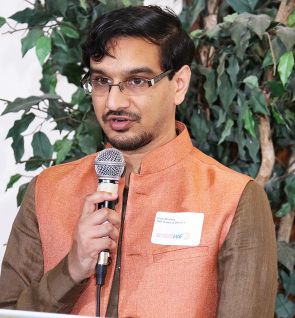 Rishi Bhutada, HAF Board of Directors