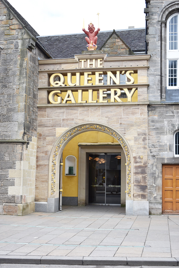 The Queen's Gallery at Holyroodhouse Palace