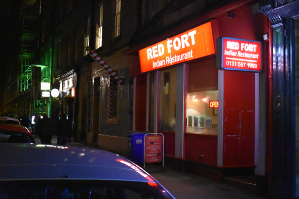 Red Fort is a favorite for its late dinners