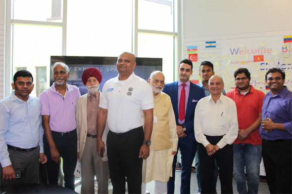 FIS supporters, friends and Board members with Consul General, Dr. Anupam Ray.