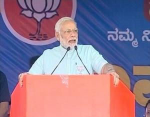 PM Modi at Election Rally in Karnataka
