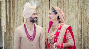 Sonam Kapoor and Anand Ahuja tie the knot in Mumbai.
