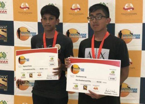 Charlotte: Vishal Madhudi (Regional Champion) and Kyu-Carlo Alegre (First Runner Up)