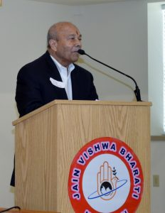 Padma Bhushan Prof. Ved Prakash Nanda, keynote speaker of the event.
