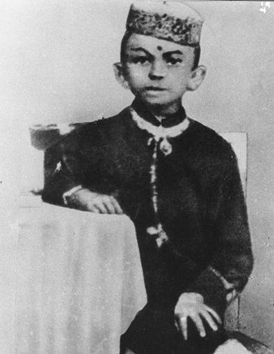 Gandhi in his Childhood