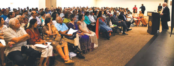 """The """"Life After: Loss of a Spouse"""" seminar attracted a record audience at India House. Additional seminars on such educational topics are in the pipeline at India House."""