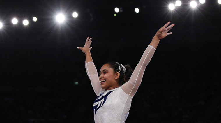 This is Dipa's first medal in a World Challenge Cup. (Source: File)