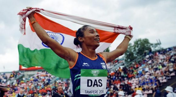 Win her win in Finland, Hima is only second to star javelin thrower Neeraj Chopra, who won a gold in Poland in the last edition in 2016 in a world record effort. (Source: PT)