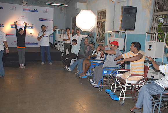 Working with terminally ill patients at King George Memorial Ashram: an initiative by Citygroup, Mumbai