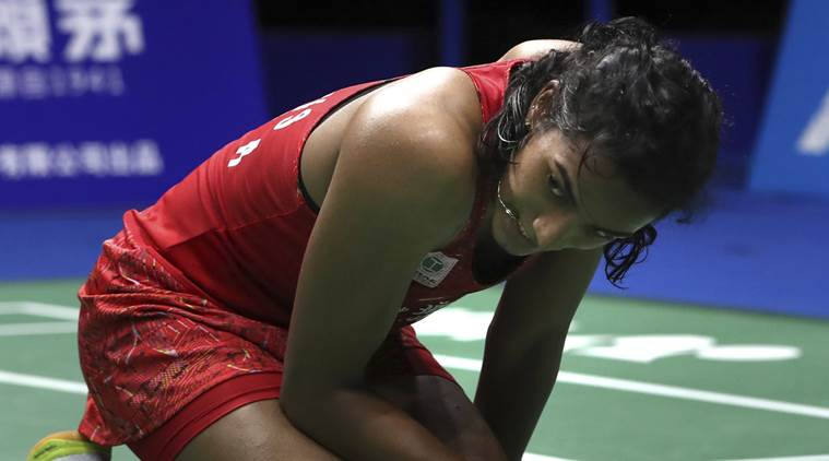 23-year-old Sindhu didn't have answers to Marin's blistering pace in the 45 minutes that the match lasted. (Source: AP)