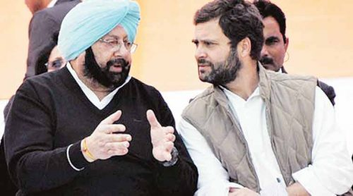 Punjab Chief Minister Captain Amarinder Singh on Sunday came out in support of Congress chief Rahul Gandhi. (File)