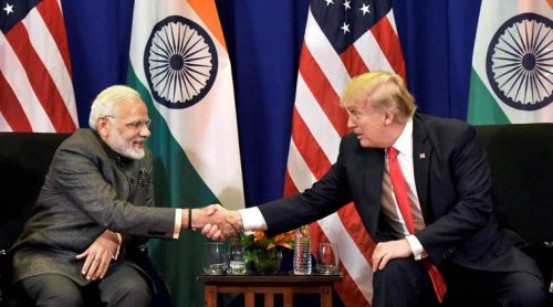 Prime Minister Narendra Modi has said that he shared Trump's vision of prosperity for India and the US. (File)