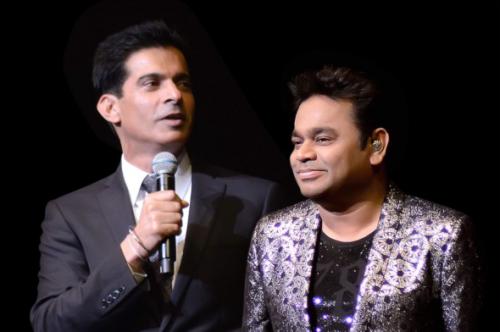 Rajender Singh with AR Rahman