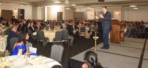 The Keynote Address by Dr. Patrick Hwu