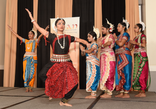 Kalaangan School of Odissi presented Raktabeeja Badh, an Indian classical dance drama.