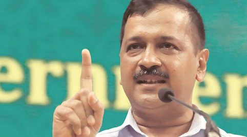 Delhi Chief Minister Arvind Kejriwal on Sunday said that Vivek Tiwari was killed despite being a Hindu. (File)