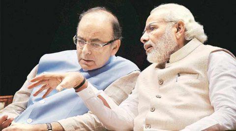 Prime Minister Narendra Modi (right) with Finance Minister Arun Jaitley. (File)