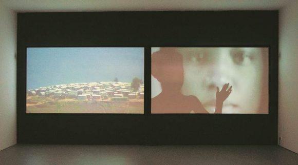 Video installations from 'Stille Bewegungen/Tranquil Motions'.