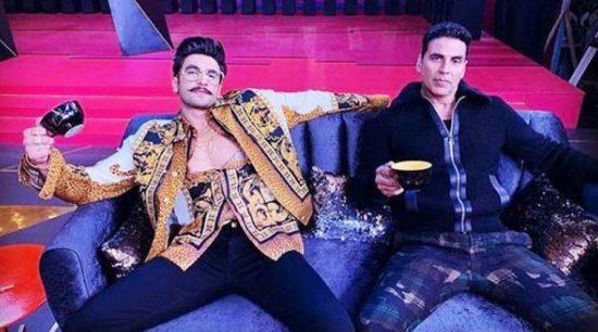 Ranveer Singh and Akshay Kumar to reveal secrets on Karan Johar's talk show.