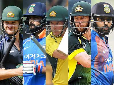 Watson, Kohli, Finch, Wade, Rohit