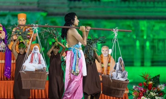 BAPS Youth perform drama of Shravan