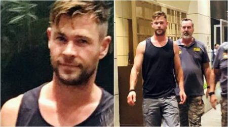 Chris Hemsworth is shooting in Ahmedabad for Netflix film Dhaka.