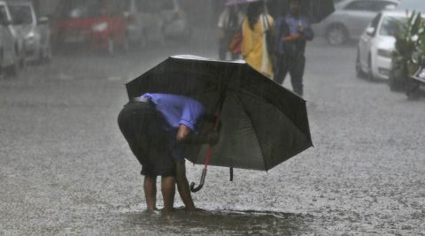 The weather forecaster further warned of heavy rainfall at isolated places. (AP)
