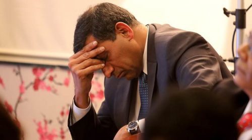 Dr Raghuram Rajan former RBI governor during the KREA university opening meeting at Peninsula corporate park in Lower Parel on Friday. Express photo by Nirmal Harindran, 23rd March 2018, Mumbai.