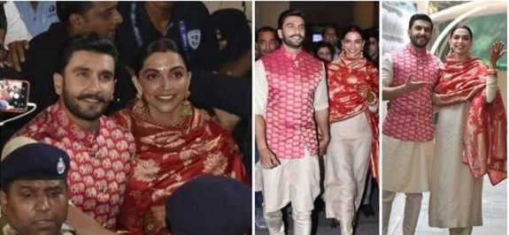 Deepika Padukone and Ranveer Singh landed in Mumbai airport on Sunday morning (Photo: Varinder Chawla)